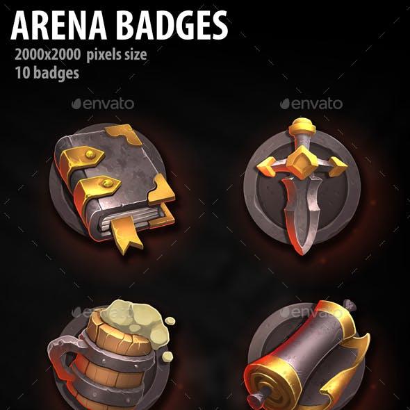 Arena Badges