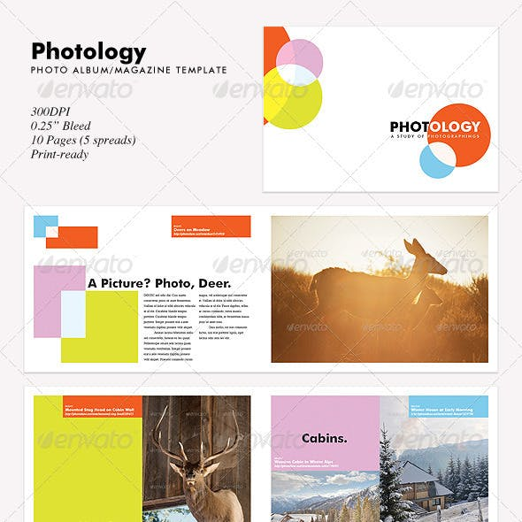 Photology - Photo Album/Magazine Template