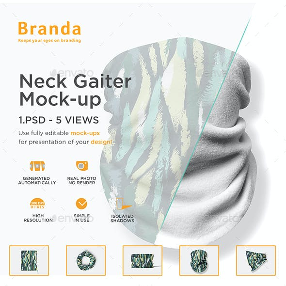 Neck Gaiter Mock-up