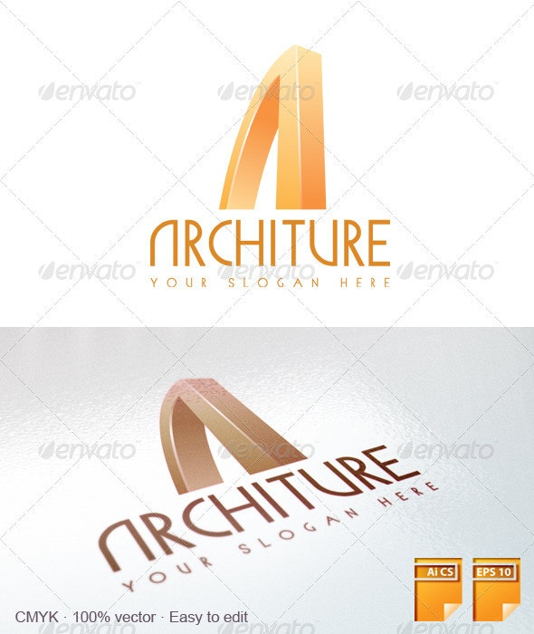 Architure Logo - Letters Logo Templates