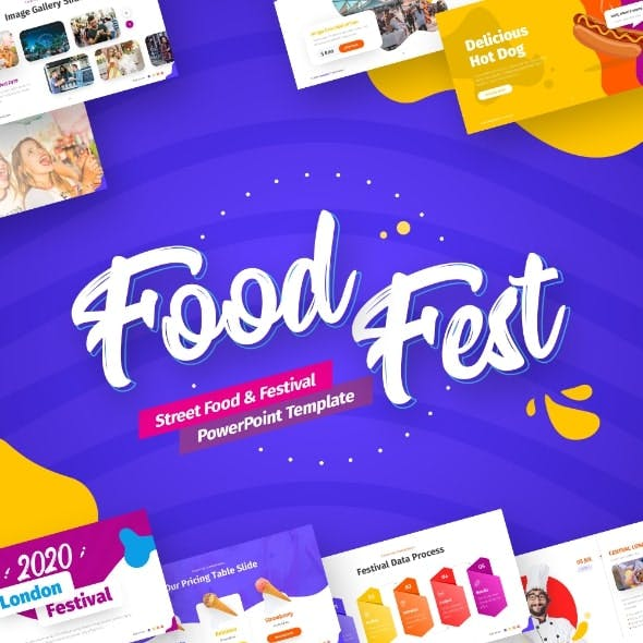 FoodFest -  Food Festival PowerPoint Template
