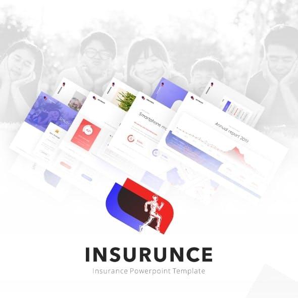 Insurunce Business Insurance PowerPoint Presentation Template