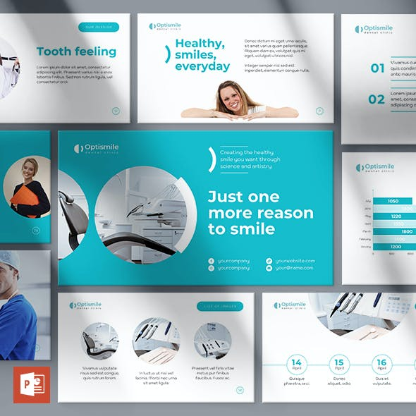Dental Clinic PowerPoint Presentation Template