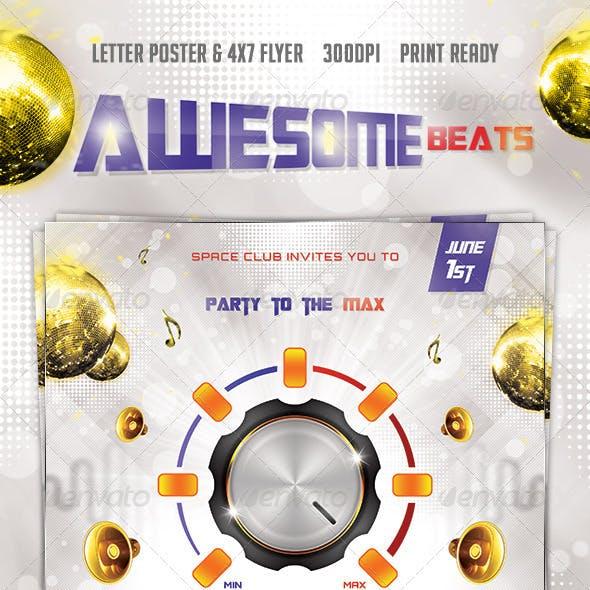 Beats Poster & Flyer