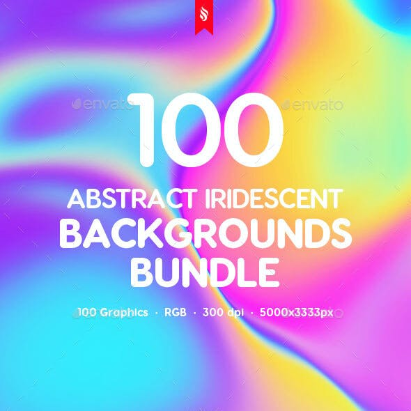 100 Different Holographic Liquid Backgrounds Bundle