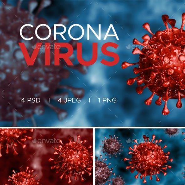 Corona Virus Backgrounds