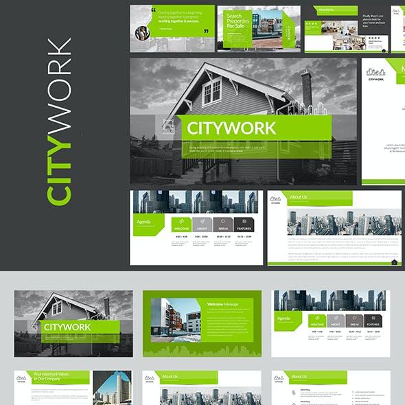 Citywork Powerpoint Presentation