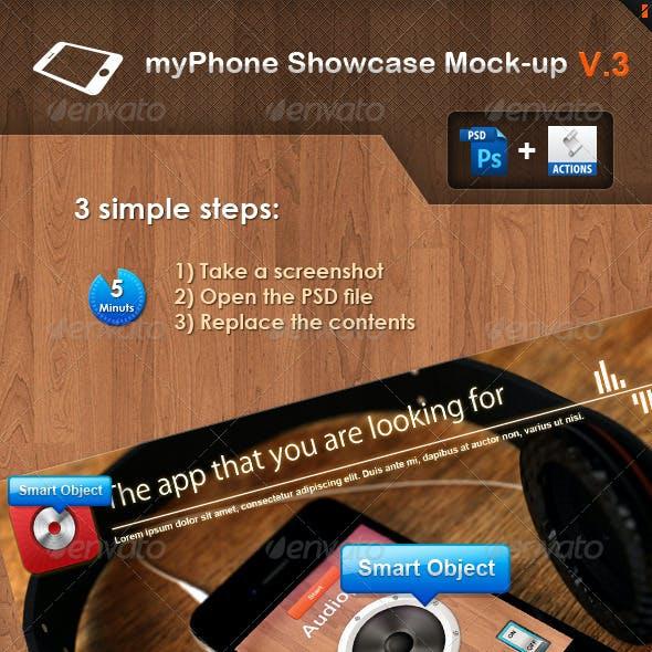 myPhone Showcase Mock-up V.3