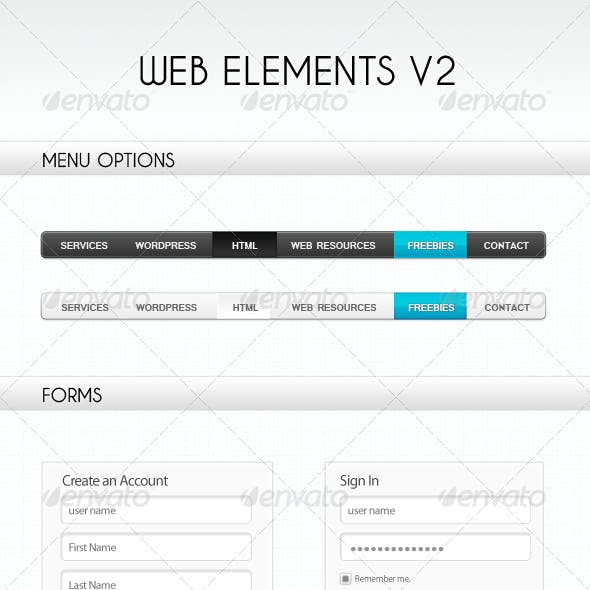Web Elements V2