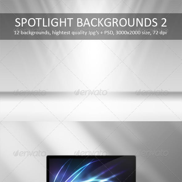 12 Spotlight Backgrounds Pack 2