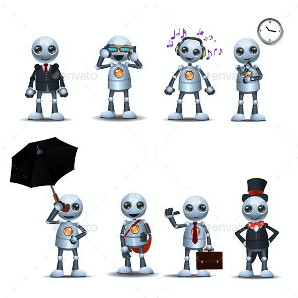 Robot Wears Fashion Design