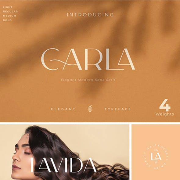 Carla Sans - Elegant Typeface