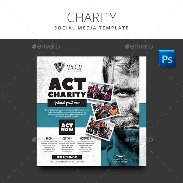 Charity Social Media Template