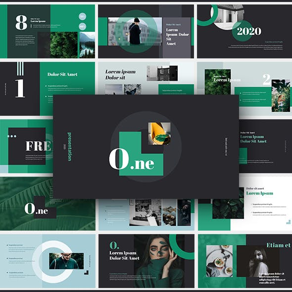 O.ne - Creative Keynote Presentation Template