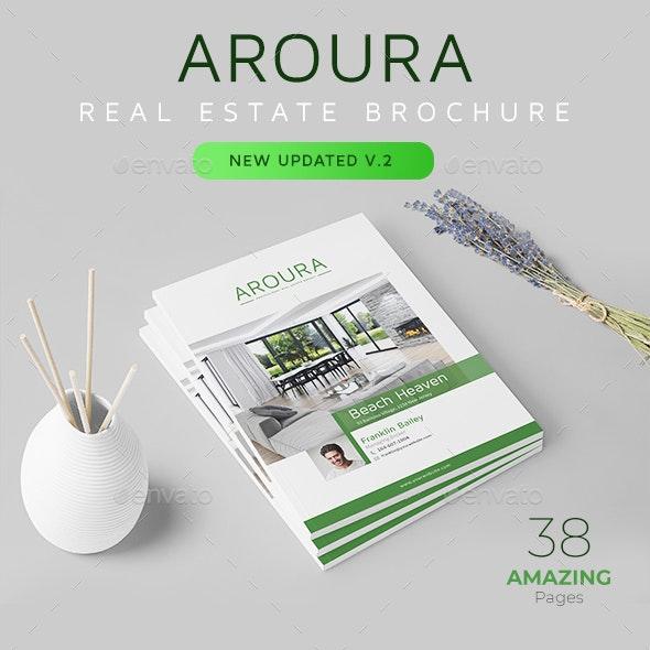 Real Estate Brochure - Aroura - Portfolio Brochures