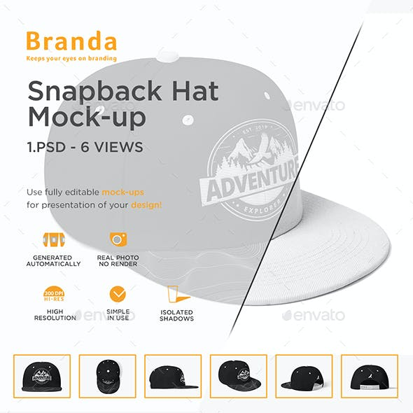 Snapback Hat Mock-up