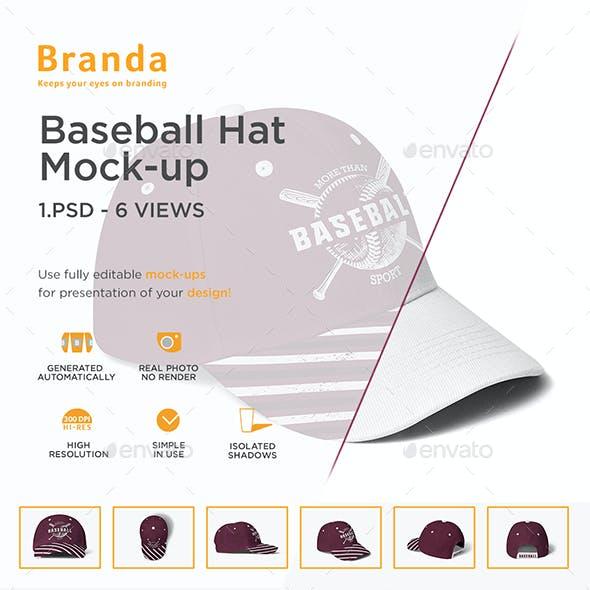 Baseball Hat Mock-up