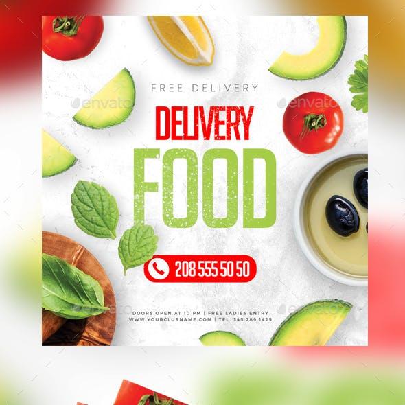 Food Delivery Instagram