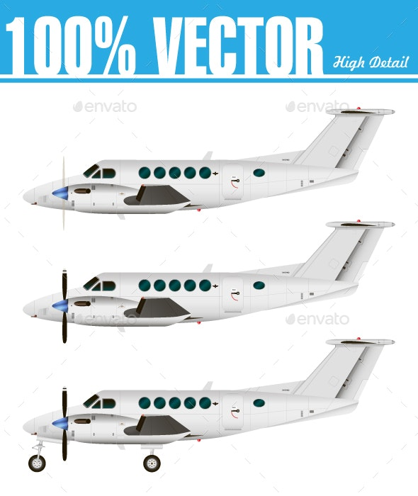 Commercial Airplane - Travel Conceptual