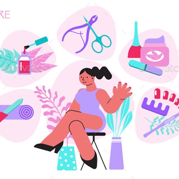 Manicure Shop Concept