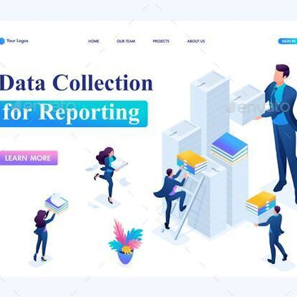 Isometric Data Collection for Reporting in Tax Period