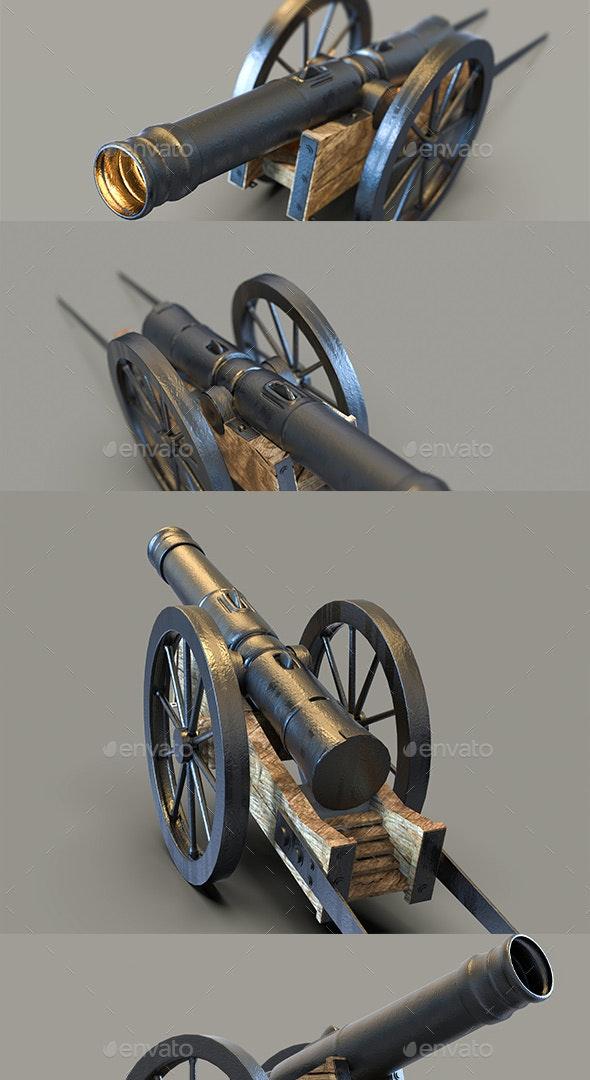 Cannon 3D Renders - Miscellaneous 3D Renders