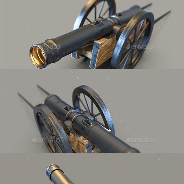 Cannon 3D Renders