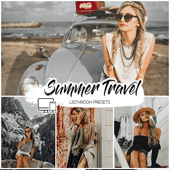 Summer Travel Lightroom Presets