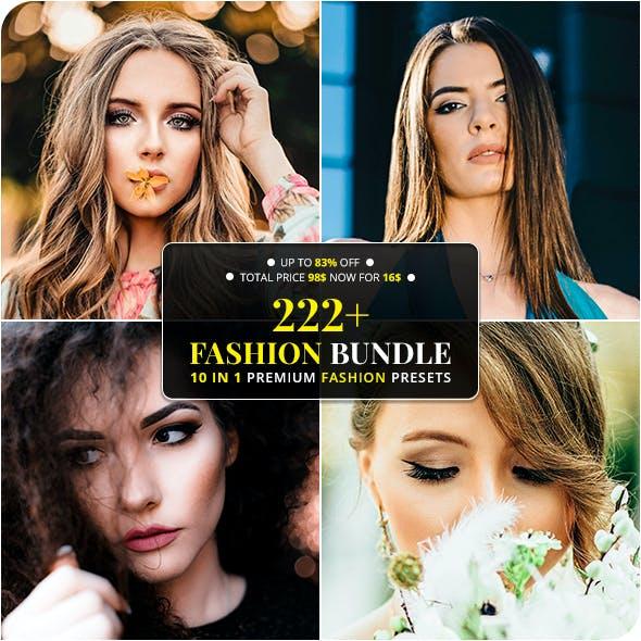 222+ Fashion Bundle Lightroom & ACR Presets