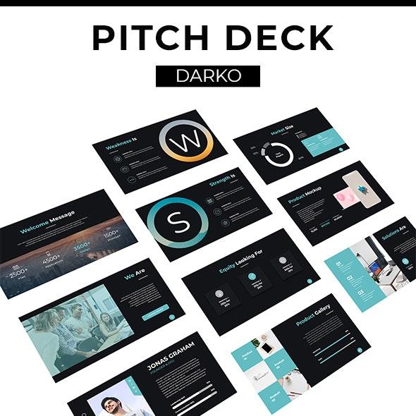 Darko Pitch Deck Template (KEY) - Business Keynote Templates