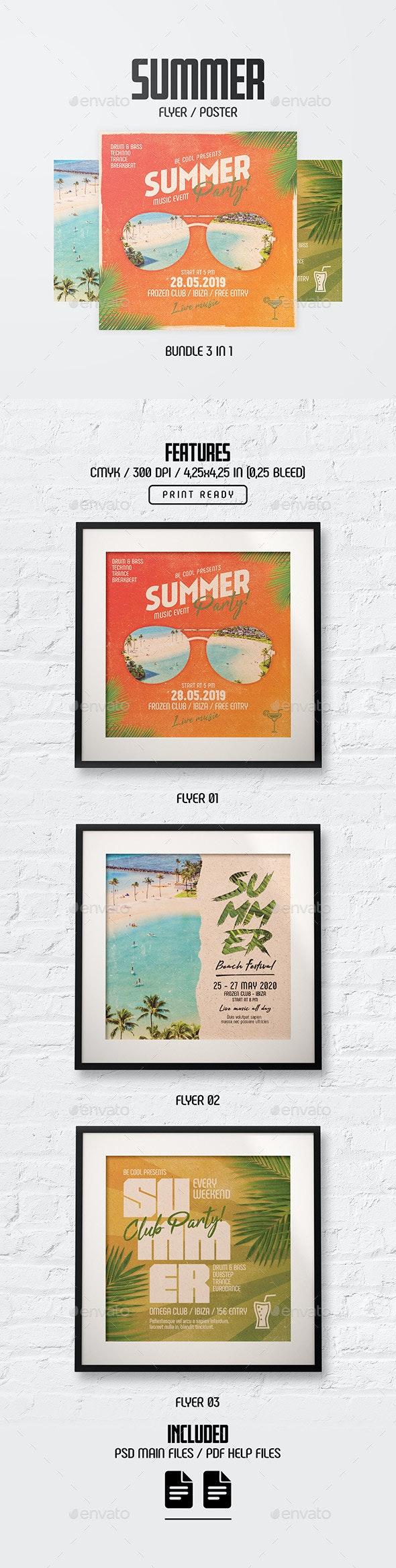 Flyer/Poster - Bundle - Clubs & Parties Events