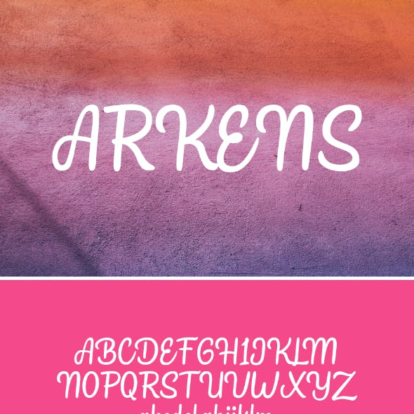 Arkens Font