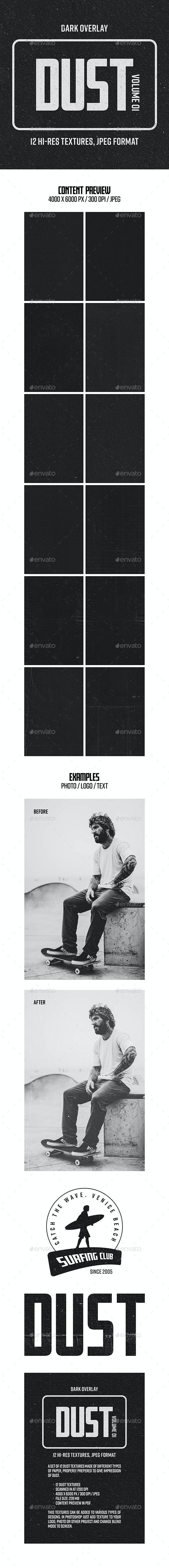 Dust Textures - Vol. 01 - Paper Textures
