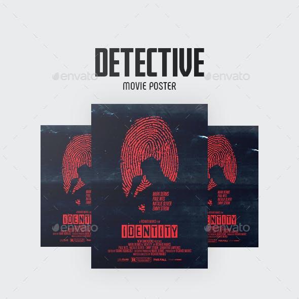 Detective Movie Flyer/Poster