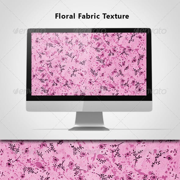 Floral Fabric Texture-03