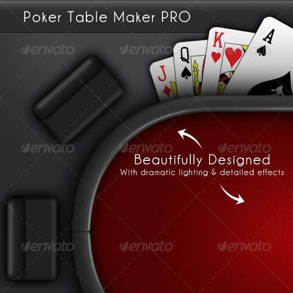 Casino Poker Table Maker Pro