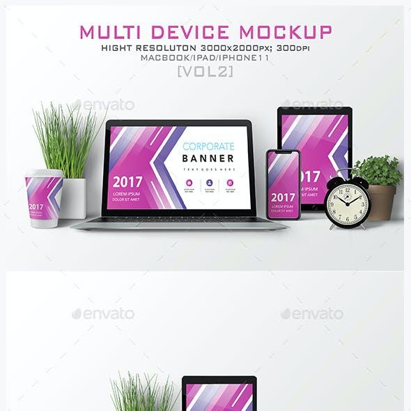 Multi Devices Mockup [vol2]