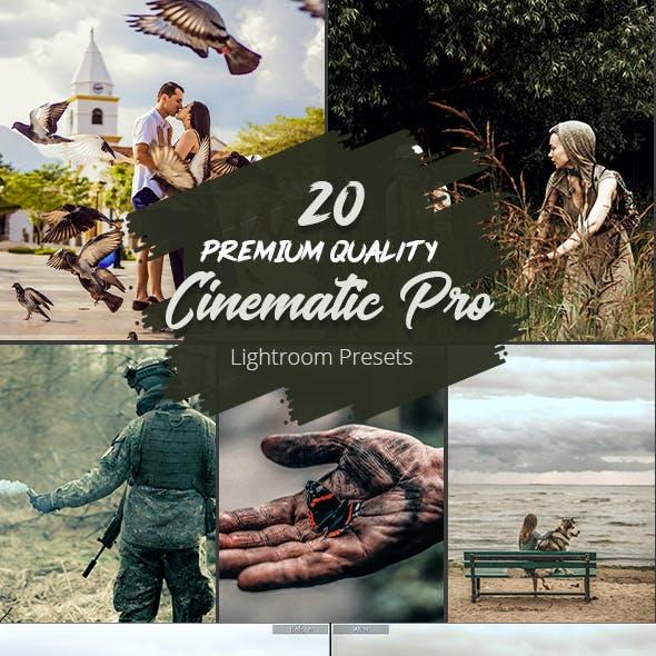 Cinematic Pro Lightroom Presets