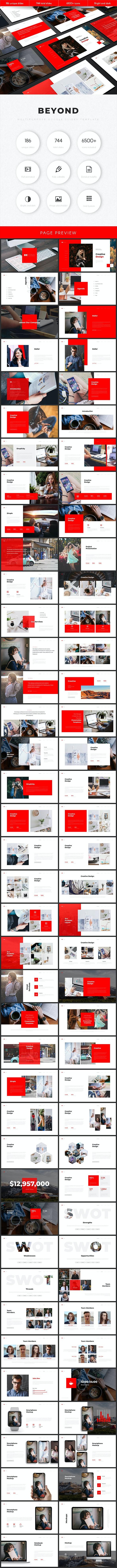 Beyond Multipurpose Google Slides Template - Google Slides Presentation Templates