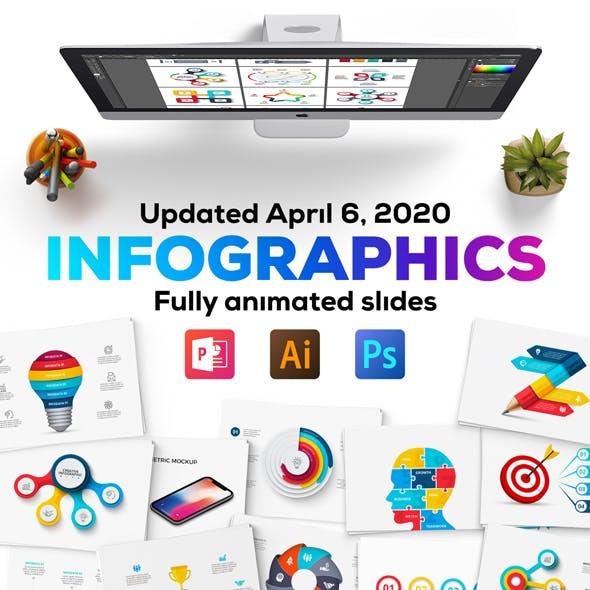 Multipurpose Infographics PowerPoint Templates v.3.9