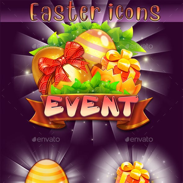Easter Game Icons
