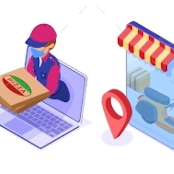 Secure Online Food Delivery Service