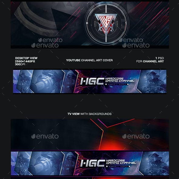 Photoshop Channel Art Template from graphicriver.img.customer.envatousercontent.com