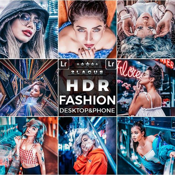 HDR Fashion-Portrait Presets  Mobile and Desktop Lightroom