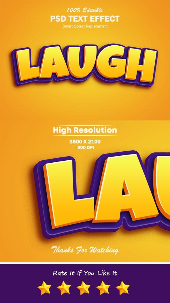 3D Cartoon Game Logo Text Effect - Text Effects Actions