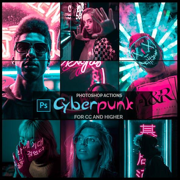 Cyberpunk - Photoshop Actions