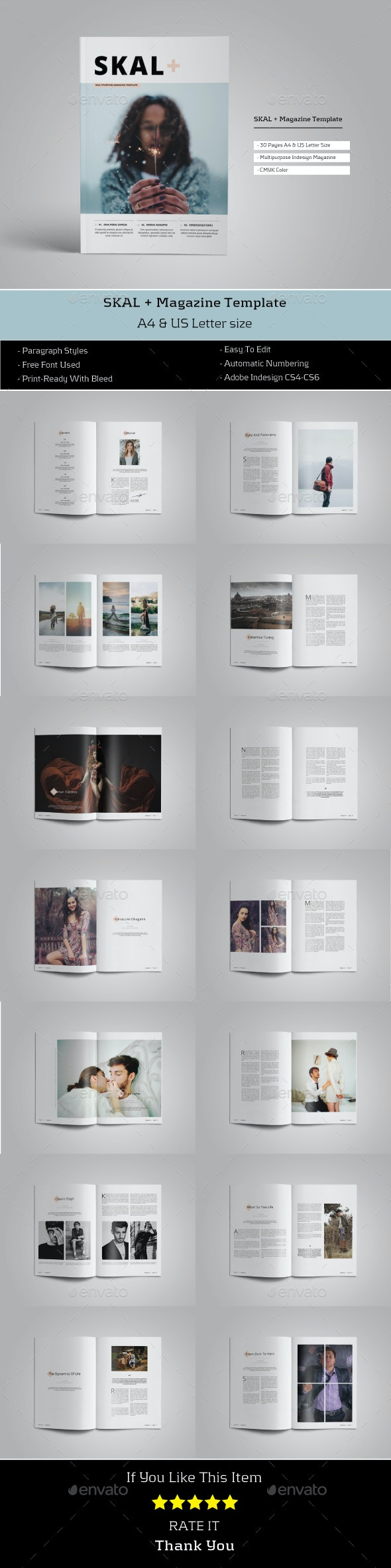 Skal Magazine - Magazines Print Templates