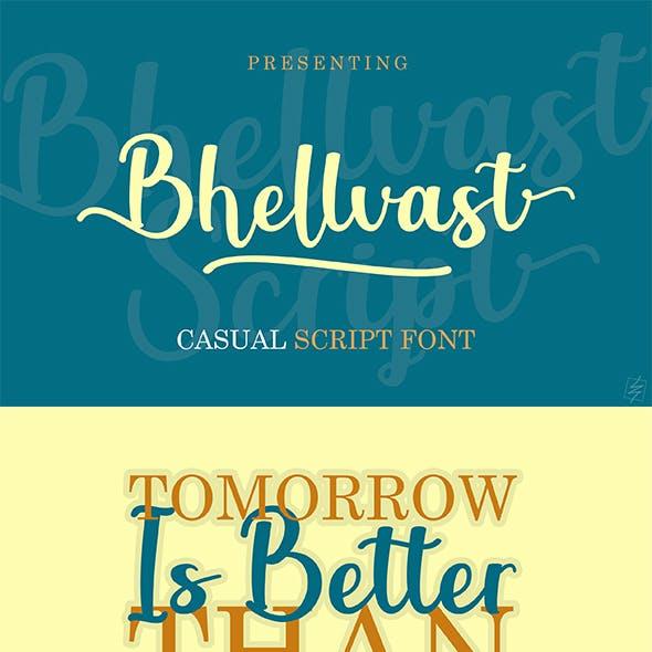 Bhellvast Script Font