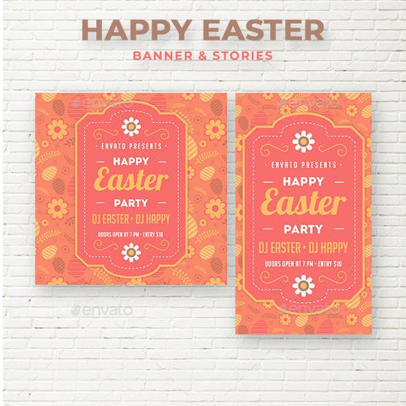 Happy Easter Social Media