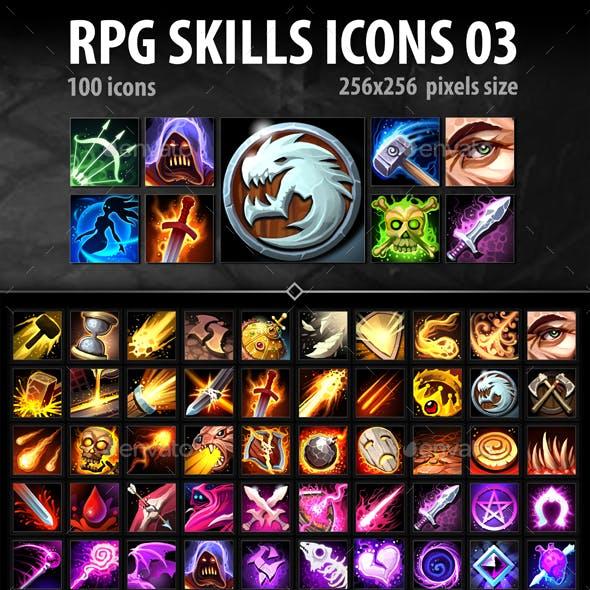 RPG Skills Icons 03